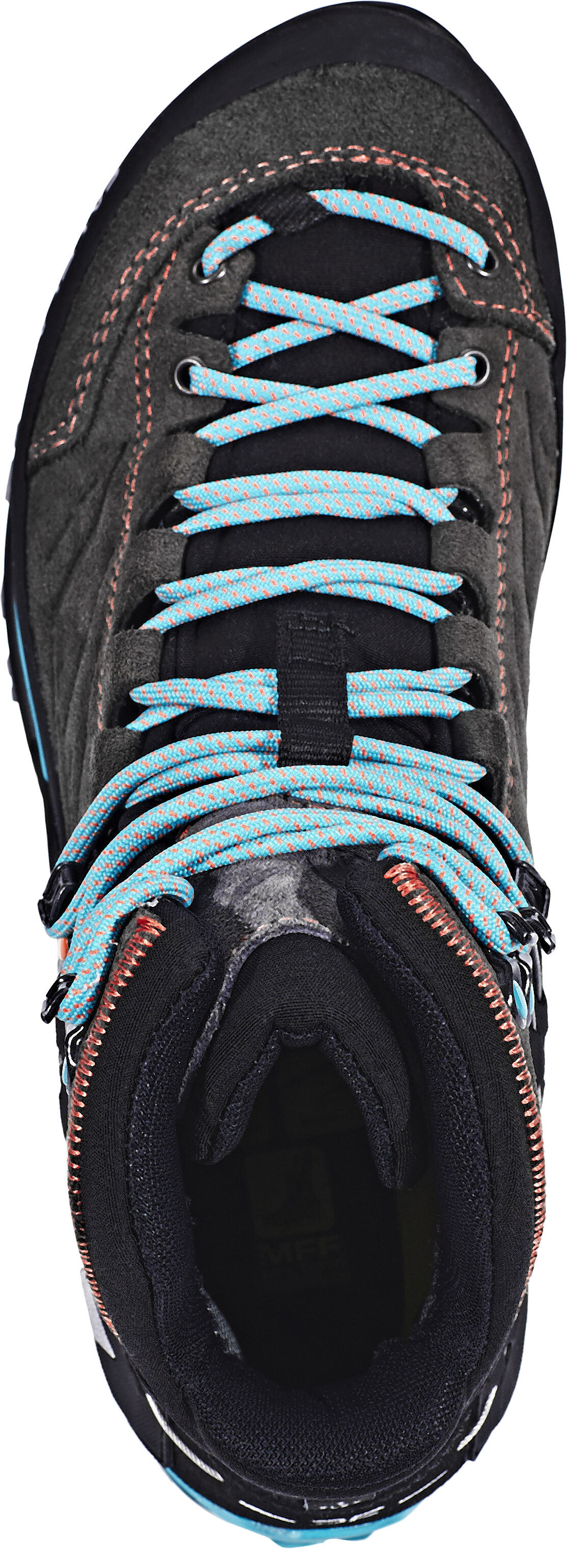 salewa mtn trainer mid gtx calzado mujer negro. Black Bedroom Furniture Sets. Home Design Ideas